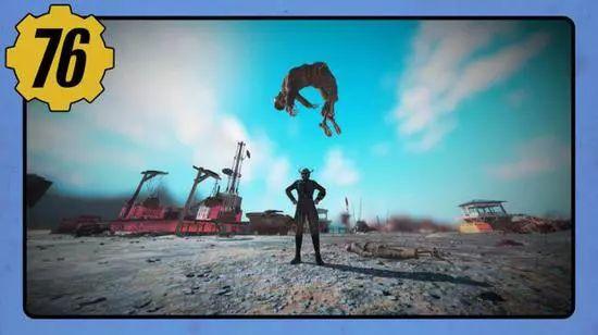 惊悚加逗逼 《辐射76》的bug还可以用照片模式这么玩